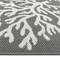 "Liora Manne Carmel Coral Indoor/Outdoor Rug Grey 39""x59"""