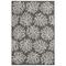 "Liora Manne Carmel Coral Indoor/Outdoor Rug Grey 4'10""x7'6"""