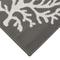"Liora Manne Carmel Coral Indoor/Outdoor Rug Grey 6'6""x9'4"""