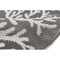 "Liora Manne Carmel Coral Indoor/Outdoor Rug Grey 7'10""x9'10"""
