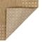 """Liora Manne Carmel Gingham Border Indoor/Outdoor Rug Sand 23""""x7'6"""""""