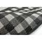 """Liora Manne Carmel Gingham Border Indoor/Outdoor Rug Black 39""""x59"""""""