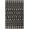 "Liora Manne Carmel Marrakech Indoor/Outdoor Rug Black 4'10""x7'6"""