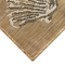 "Liora Manne Carmel Seashell Border Indoor/Outdoor Rug Sand 6'6""x9'4"""