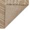 """Liora Manne Carmel Chevron Indoor/Outdoor Rug Sand 23""""x7'6"""""""