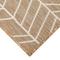 """Liora Manne Carmel Chevron Indoor/Outdoor Rug Sand 39""""x59"""""""