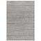 "Liora Manne Cove Diamond Stripe Indoor/Outdoor Rug Grey 8'10""x11'1"""