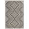 """Liora Manne Cove Kilim Indoor/Outdoor Rug Charcoal 39""""x55"""""""