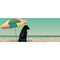 """Liora Manne Frontporch Parasol And Pup Indoor/Outdoor Rug Multi 24""""x60"""""""
