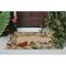 """Liora Manne Frontporch Bird Border Indoor/Outdoor Rug Natural 30""""x48"""""""