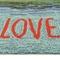 """Liora Manne Frontporch Live Love Lake Indoor/Outdoor Rug Water 24""""x60"""""""