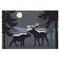 """Liora Manne Frontporch Moonlit Moose Indoor/Outdoor Rug Night 20""""x30"""""""