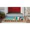 """Liora Manne Frontporch Beach Beach Indoor/Outdoor Rug Ocean 20""""x30"""""""