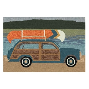 "Liora Manne Frontporch Camping Indoor/Outdoor Rug Multi 20""x30"""