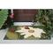 "Liora Manne Frontporch Ladybugs Indoor/Outdoor Rug Green 20""x30"""