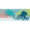 """Liora Manne Frontporch Octopus Indoor/Outdoor Rug Ocean 24""""x60"""""""