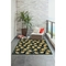 "Liora Manne Ravella Lemon Indoor/Outdoor Rug Black 42""x66"""