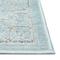 "Liora Manne Rialto Border Indoor/Outdoor Rug Aqua 6'6""x9'4"""