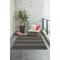 "Liora Manne Sorrento Cabana Stripe Indoor/Outdoor Rug Navy 8'3""x11'6"""