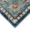 "Liora Manne Ashford Medallion Indoor Rug Blue 23""x7'6"""
