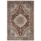 "Liora Manne Ashford Medallion Indoor Rug Red 39""x59"""