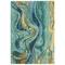 "Liora Manne Corsica Panorama Indoor Rug Blue/Green 7'6""x9'6"""