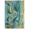 "Liora Manne Corsica Panorama Indoor Rug Blue/Green 8'3""x11'6"""