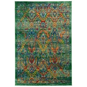"""Liora Manne Fiesta Caspian Indoor Rug Green 5'3""""x7'6"""""""