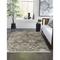 """Liora Manne Hampton Vintage Floral Indoor Rug Charcoal 7'10""""x9'10"""""""