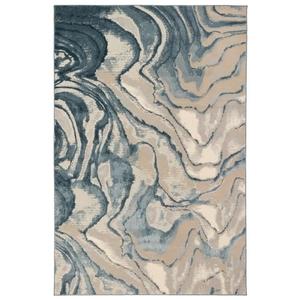 """Liora Manne Soho Agate Indoor Rug Blue 39""""x59"""""""