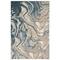 """Liora Manne Soho Agate Indoor Rug Blue 5'3""""x7'6"""""""