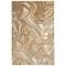 """Liora Manne Soho Agate Indoor Rug Gold 6'6""""x9'4"""""""