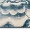 "Liora Manne Soho Clouds Indoor Rug Blue 6'6""x9'4"""