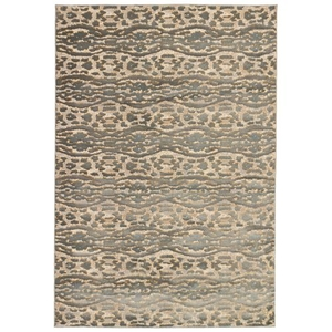 "Liora Manne Soho Safari Stripe Indoor Rug Neutral 23""x7'6"""