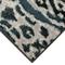 "Liora Manne Soho Safari Stripe Indoor Rug Black/Blue 23""x7'6"""