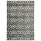 "Liora Manne Soho Safari Stripe Indoor Rug Black/Blue 6'6""x9'4"""