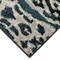 "Liora Manne Soho Safari Stripe Indoor Rug Black/Blue 7'10""x9'10"""