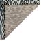 "Liora Manne Soho Safari Stripe Indoor Rug Black/Blue 8'10""x11'9"""