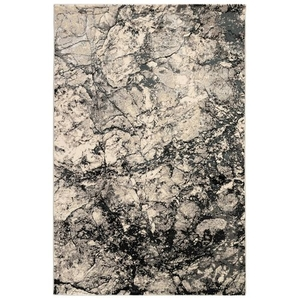 "Liora Manne Taos Granite Indoor Rug Grey 22""x7'6"""