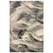 "Liora Manne Taos Brushstrokes Indoor Rug Grey 6'4""x9'4"""