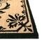 """Liora Manne Dwell Vine Outdoor Mat A Black 18""""x30"""""""