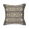"""Liora Manne Marina Tribal Stripe Indoor/Outdoor Pillow Silver 18"""" Square"""