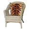 """Liora Manne Visions I Tiger Indoor/Outdoor Pillow Brown 20"""" Square"""