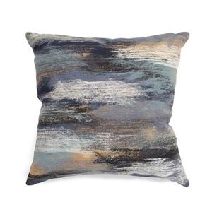 "Liora Manne Visions I Vista Indoor/Outdoor Pillow Aqua 12""x20"""