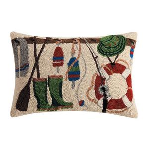 Lake Rack Hook Pillow