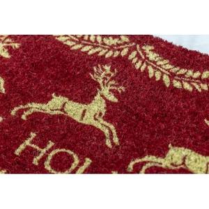 WILLIAMSBURG Dash Away All Handwoven Coconut Fiber Doormat