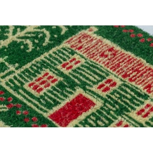 WILLIAMSBURG Home for the Holidays Handwoven Coconut Fiber Doormat