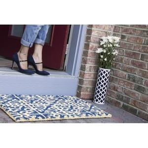 WILLIAMSBURG Parterre Handwoven Coconut Fiber Doormat