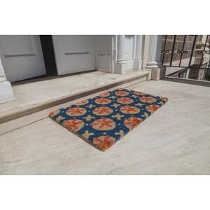 WILLIAMSBURG Purdie Handwoven Coconut Fiber Doormat