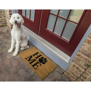Pet Home Coir Doormat with Backing